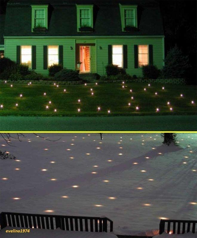 economical lawn lights illuminated outdoor decoration ledchristmas1520sqft21 10 - Christmas Lawn Lights Illuminated Outdoor Decoration