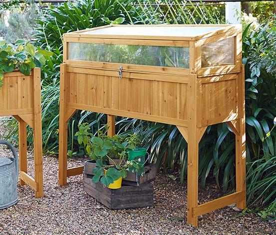 Hochbeet Mit Anzuchtaufsatz Hochbeet Beete Garten