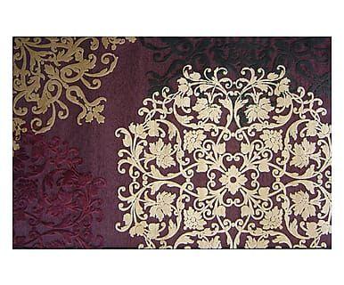 Tappeto classico tessitura Wilton in viscosa e ciniglia