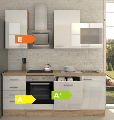 Flex-Well Küchenzeile 220 cm G-220-1703-012 Valero Jetzt bestellen - küchen in grau