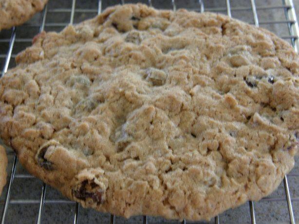 Super-Size Oatmeal & Raisin Cookies