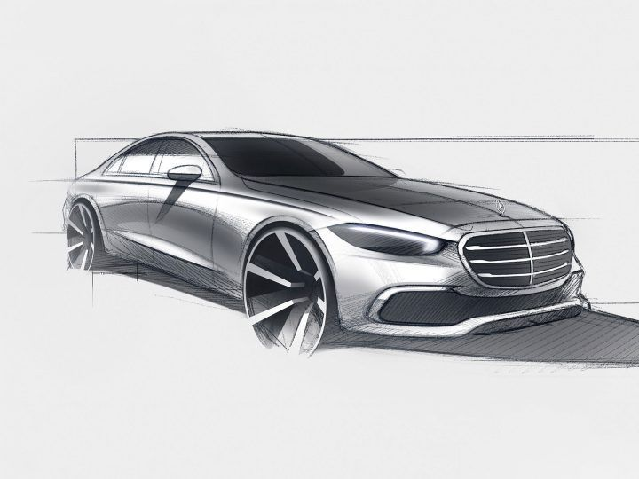 The new Mercedes-Benz S-Class #MercedesBenzSclass #MercedesBenz #cardesign #automotivedesign #autodesign #cardesignworld #cardesignercommunity #cardesignpro #carbodydesign #cardesigner #vehicledesign #sketch #designsketch #carsketch #cardesignsketch #industrialdesignsketch #carrendering #luxurycars