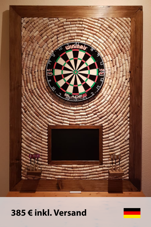 Dartscheibe Mit Korken Dart Board Backerboard Cork Dartboard