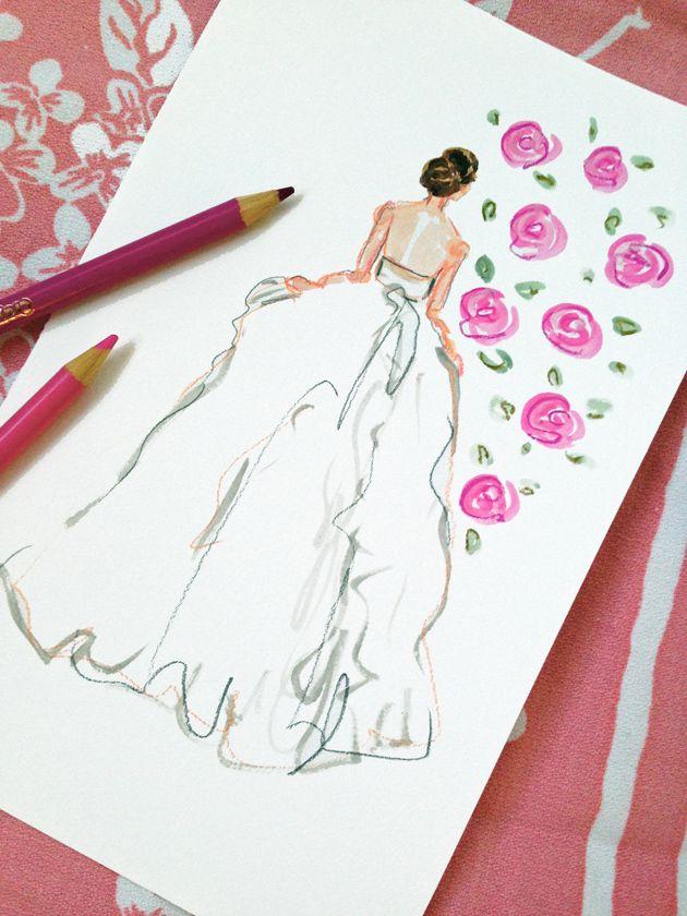 pink bride   #bridalportrait