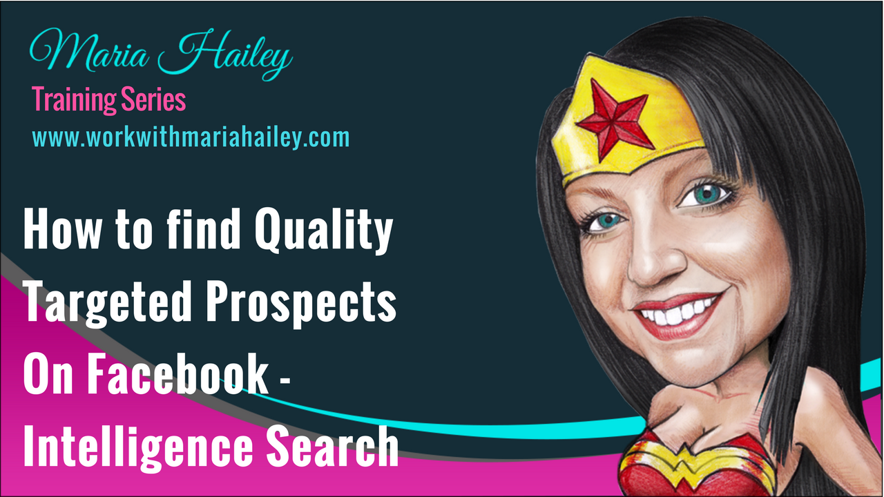 How to Find Quality Targeted Prospects On Facebook