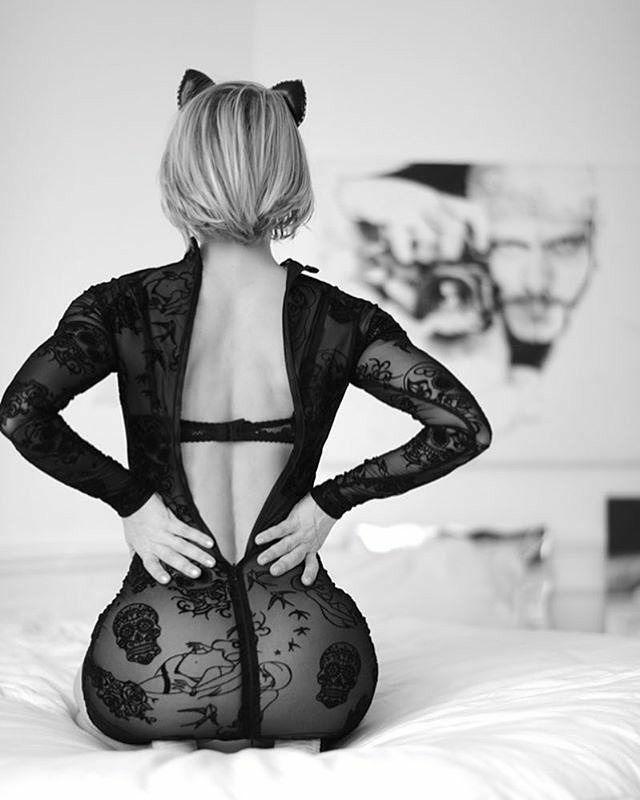 sexy čierna fotografie