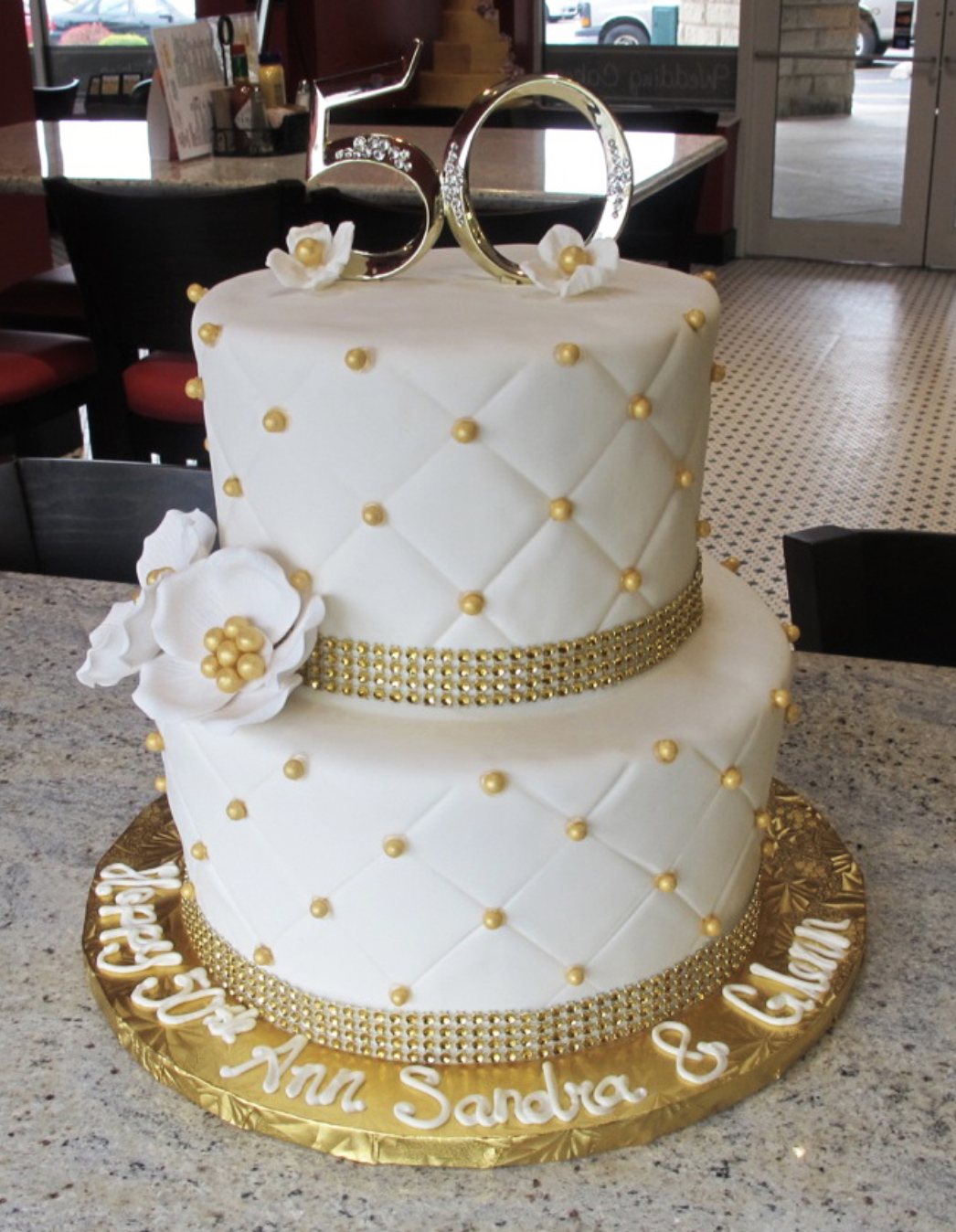 50th anniversary bling … | Cakes | Pinte…