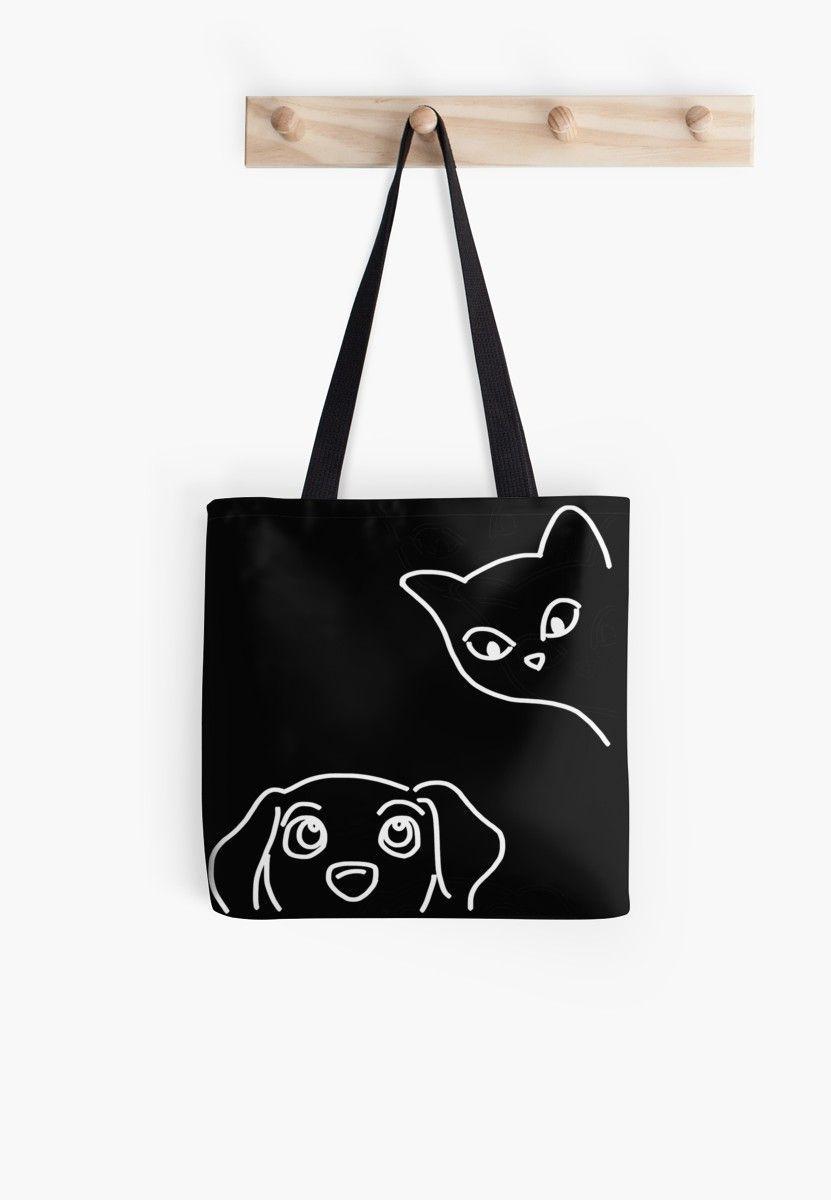 Informationen zu cat  dog best friends  Tote Bag by Jacqueline K Pin Sie können mein Profil ganz einfach verwenden um verschiedene Arten von Ausgaben zu testen Die c...
