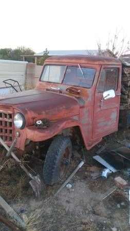 1951 Truck Tucson Az Willys Jeep Truck Parts Trucks