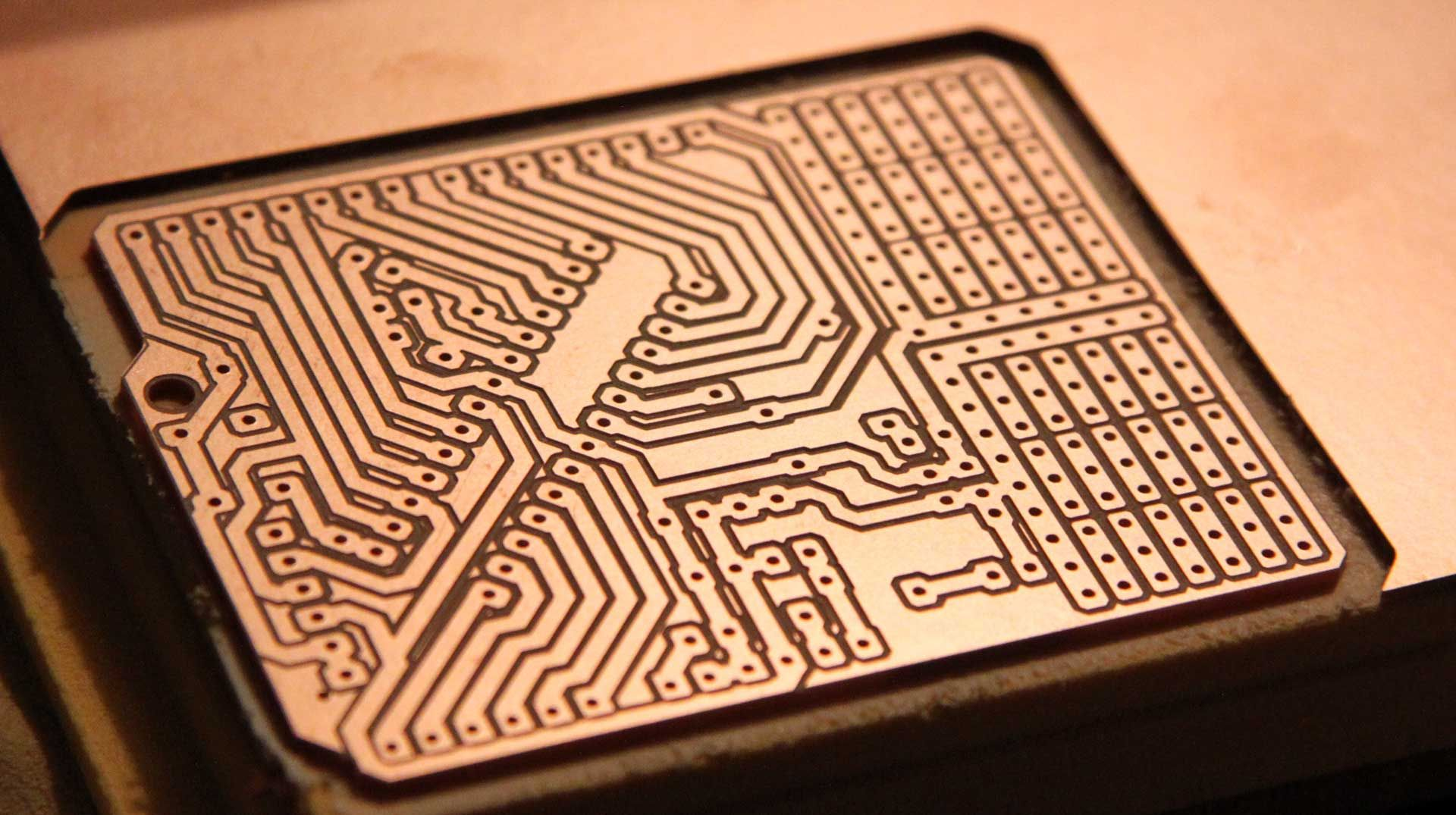 Diy Circuit Board Projects Homemade Pcb Etching Theory Pyroelectro News Nanino The Friendly Arduino Johan Von Konow Concept