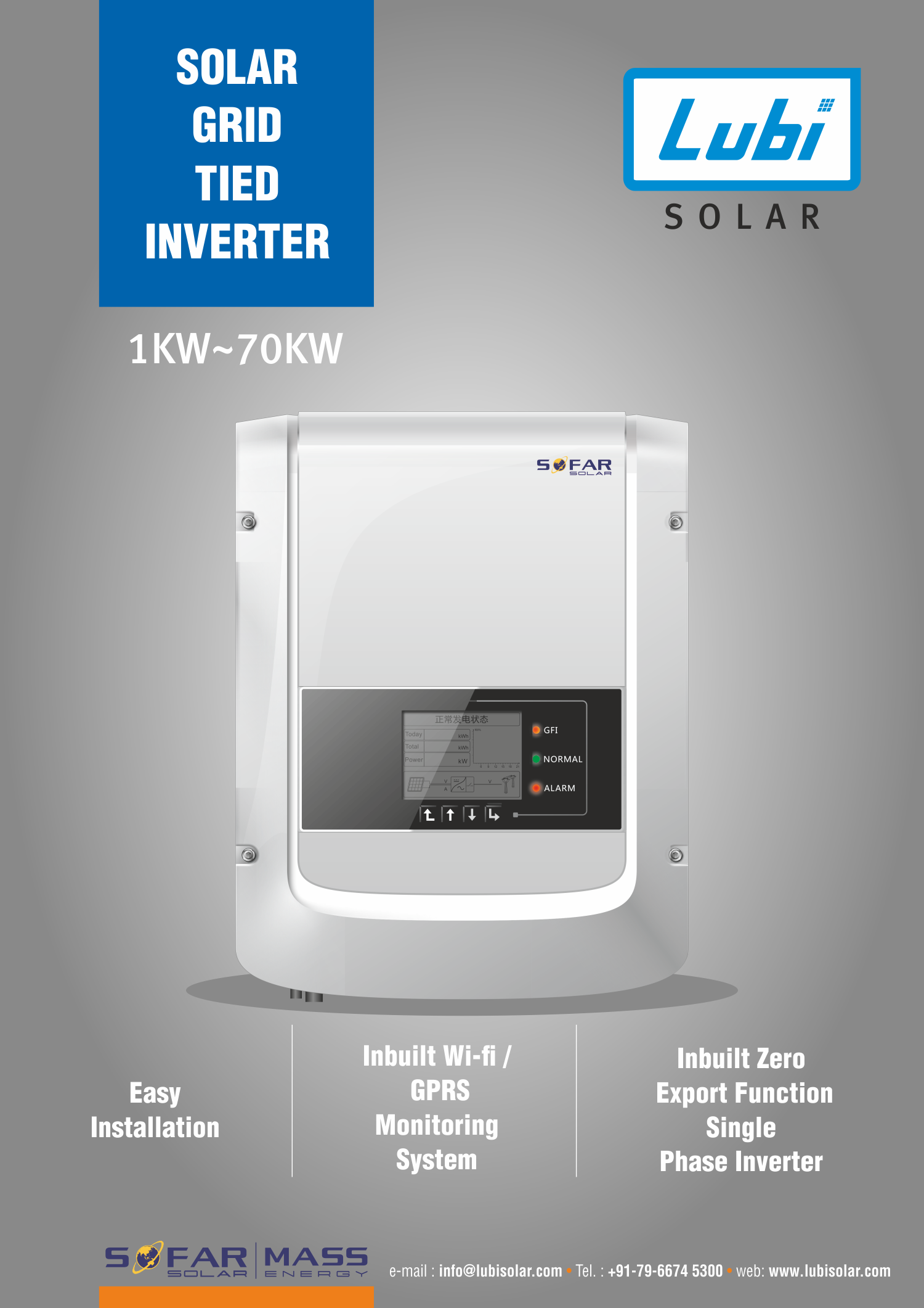 Sofar Solar Inverter In 2020 Solar Inverter Solar Power Panels Solar Module