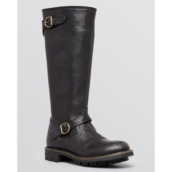 c91aef0cf Fiorentini and Baker Tall Lug Sole Boots ( 399) ❤ liked on Polyvore  featuring shoes