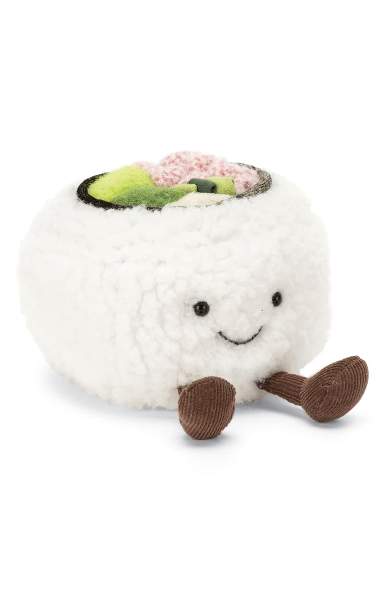 Free Shipping And Returns On Jellycat Silly Sushi California Roll Plush Toy At Nordstrom Com Adventurous Little Eate In 2020 Jellycat Sushi Plush Cute Stuffed Animals