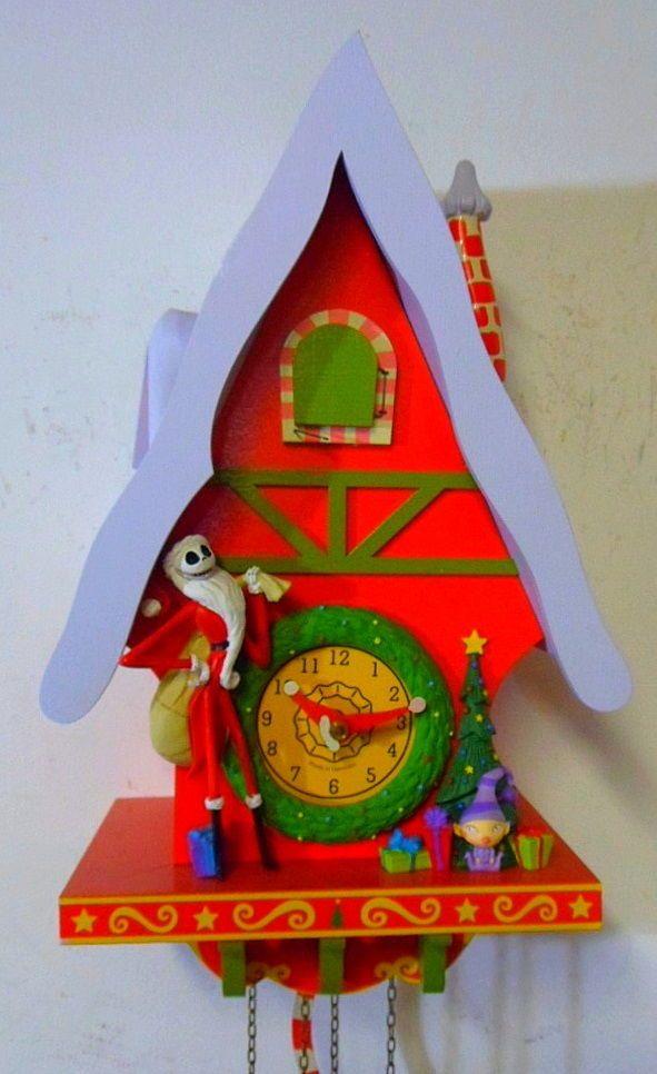 the nightmare before christmas cuckoo clock - Nightmare Before Christmas Cuckoo Clock