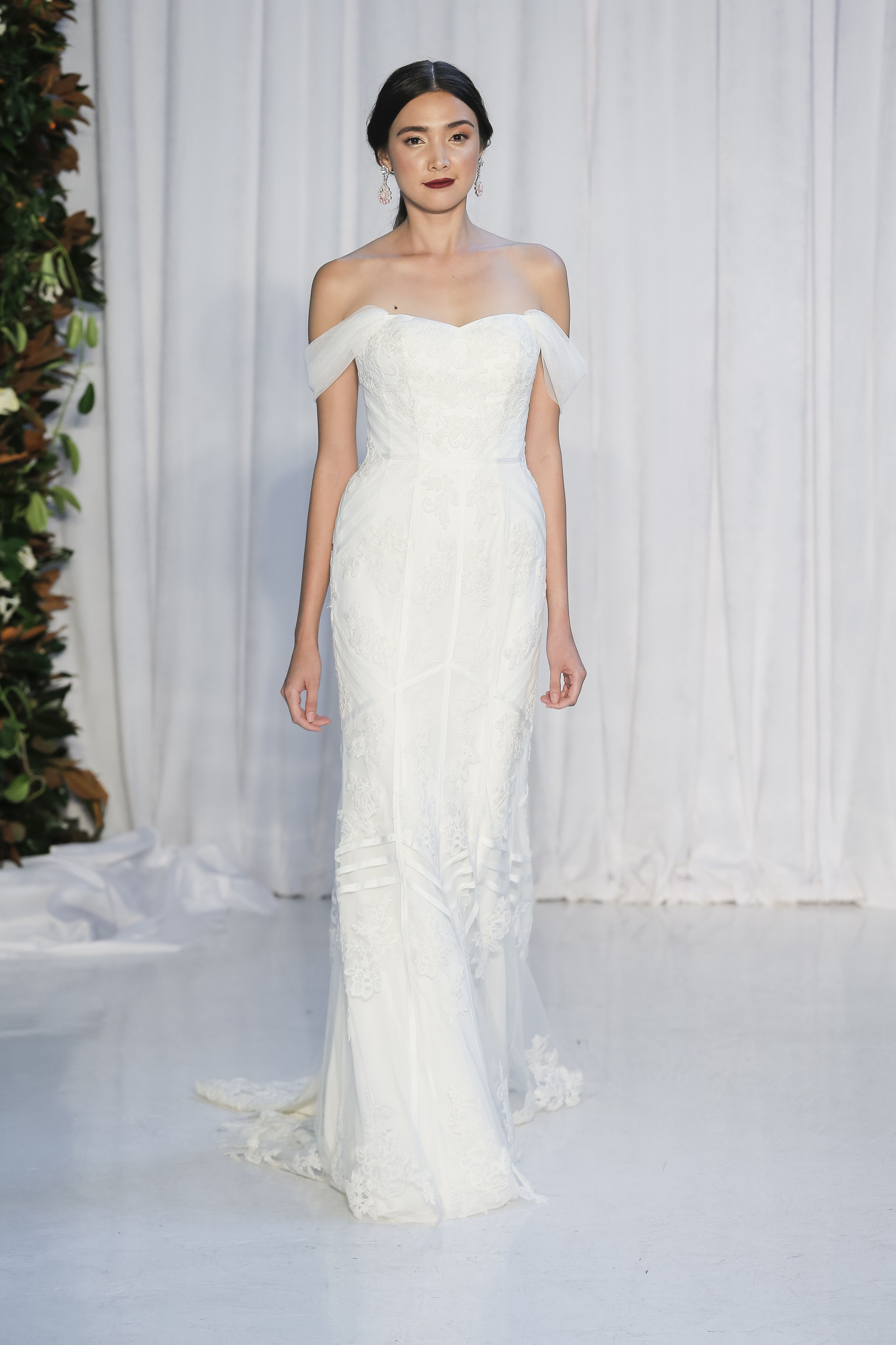Anne barge fall runway show wedding inspiration pinterest