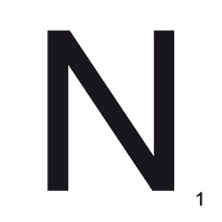 Letter N, 21x21 Wallstuff - Osta kalusteita verkossa osoitteessa ROOM21.fi