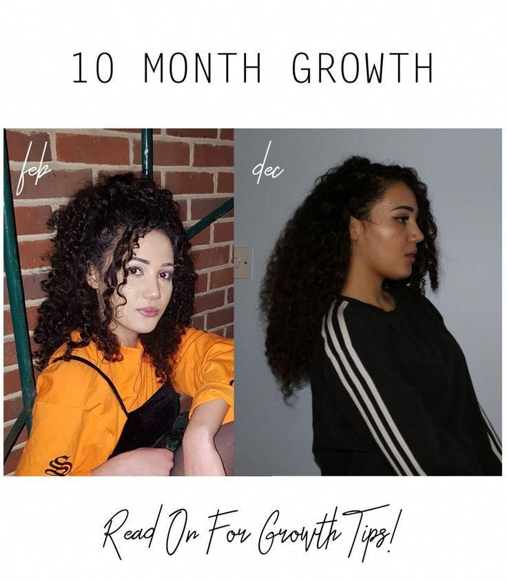 I Grew My Hair More Than 12 Inches In Less Than 10 Months And It S Thicker And Healthier Than Ever F Thick Hair Styles Thick Hair Remedies Curly Hair Styles