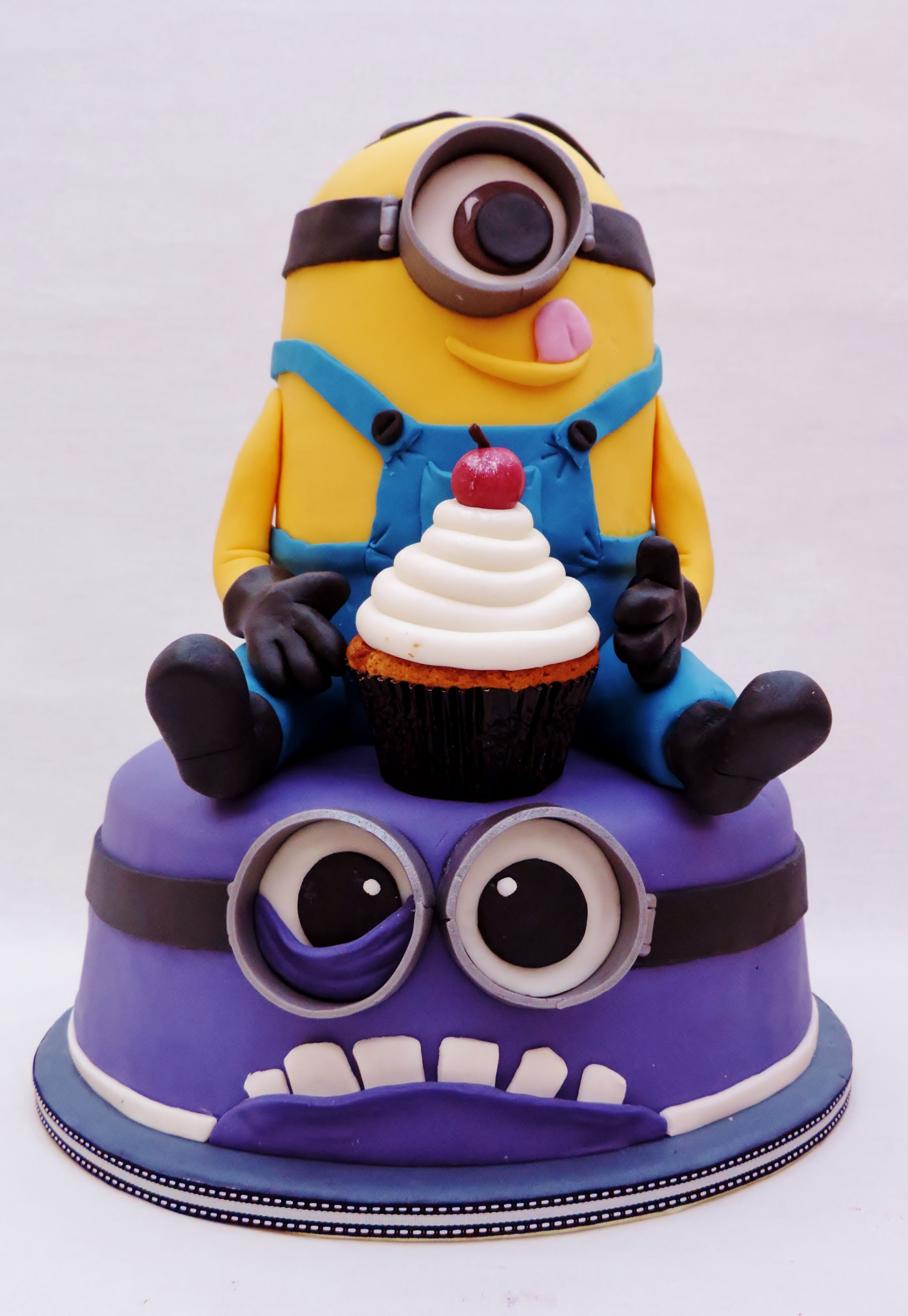 minion cake. Jaxen's 2nd birthday.
