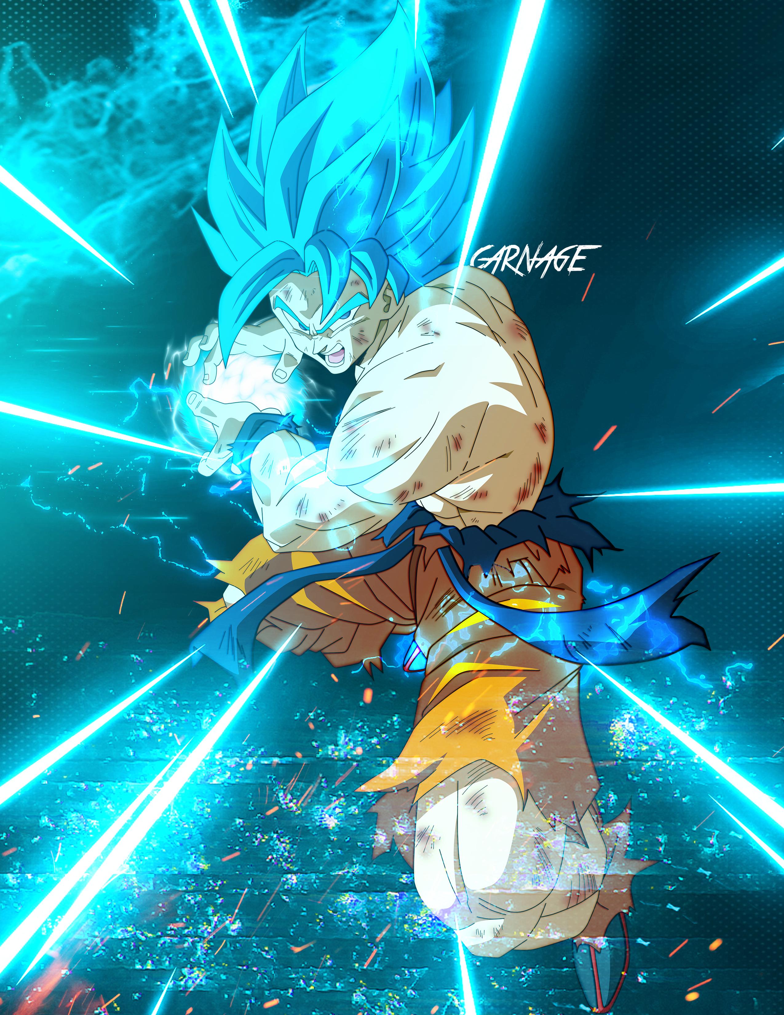 Goku SSGSS - Kamehameha, Dragon Ball Super (With images ...