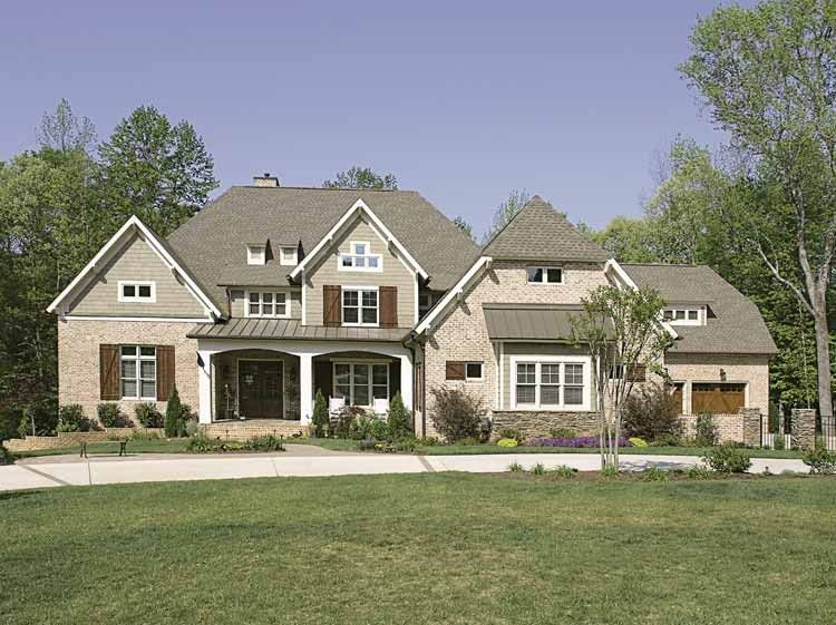Cottage House Plan With 7937 Square Feet And 5 Bedrooms S From Dream Home Source House Plan Code D Craftsman Style House Plans House Plans Dream House Plans