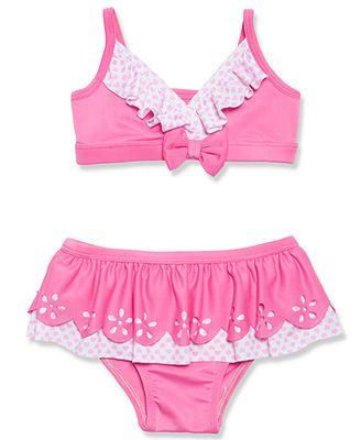 84dee21884 Penelope Mack Little Girls' 2-Piece Bikini Swimsuit | gIRLY gIRLS ...