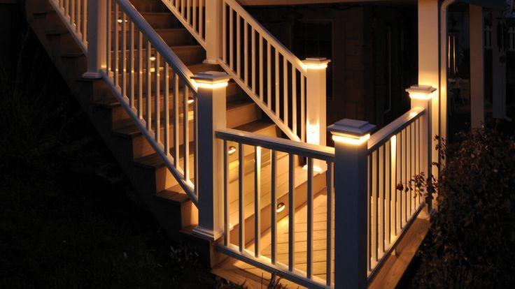 Deck rail lighting deck lights outdoor lighting azek regarding sizing 1440 x 810 under rail deck lighting ideas appropriate lighting is among the most im