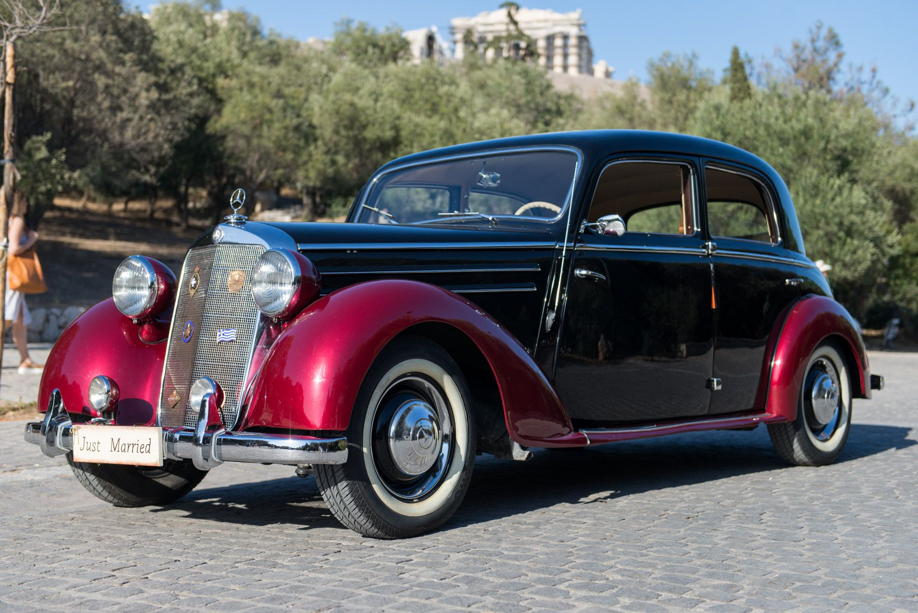 Destination Wedding in Greece #weddingclassiccars #rental ...