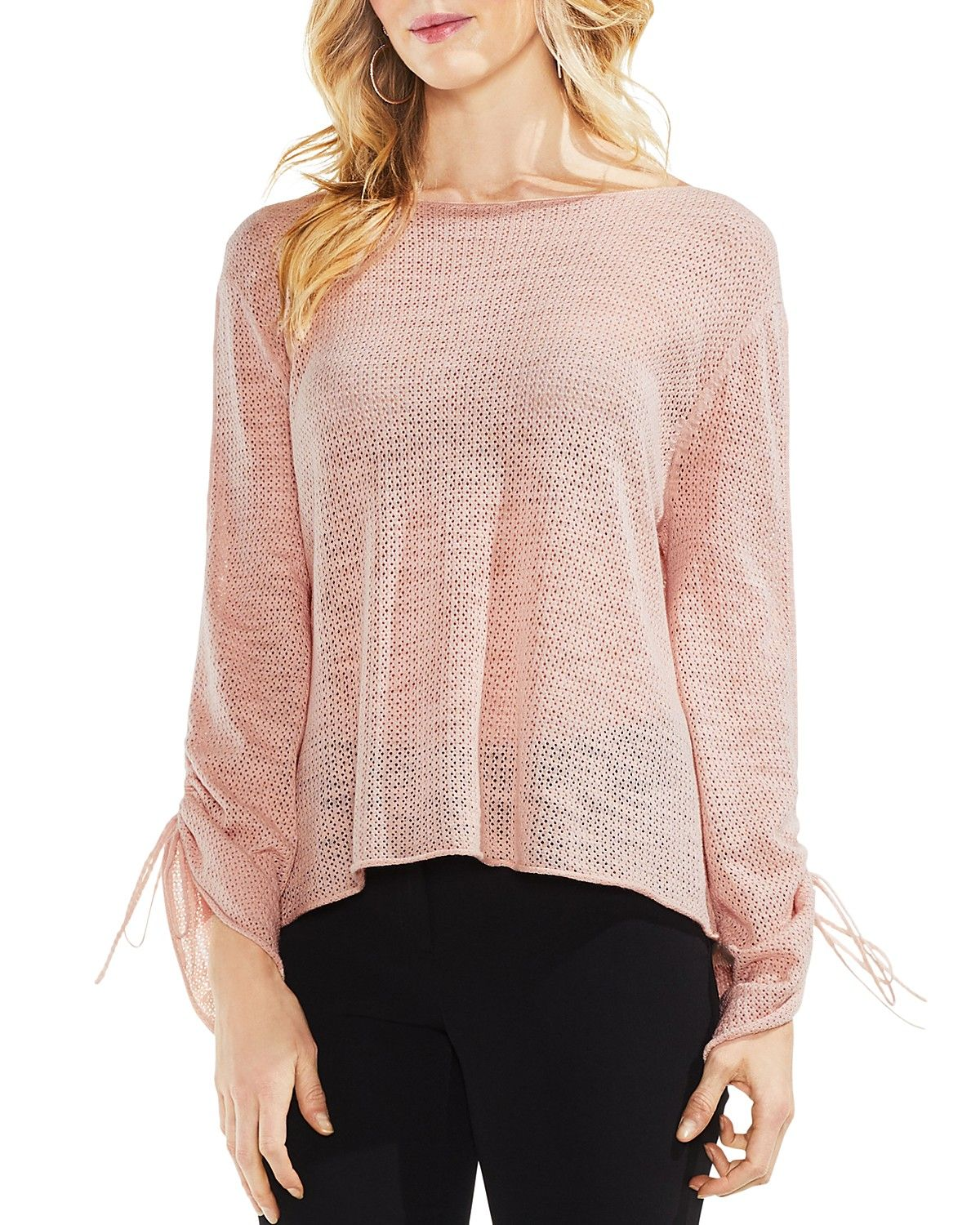 Pointelle Sweater, Sweaters