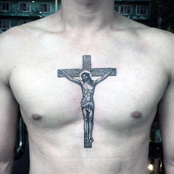 0ea4bde5c 40 Jesus Chest Tattoo Designs For Men - Chris Ink Ideas | Tattoo ...