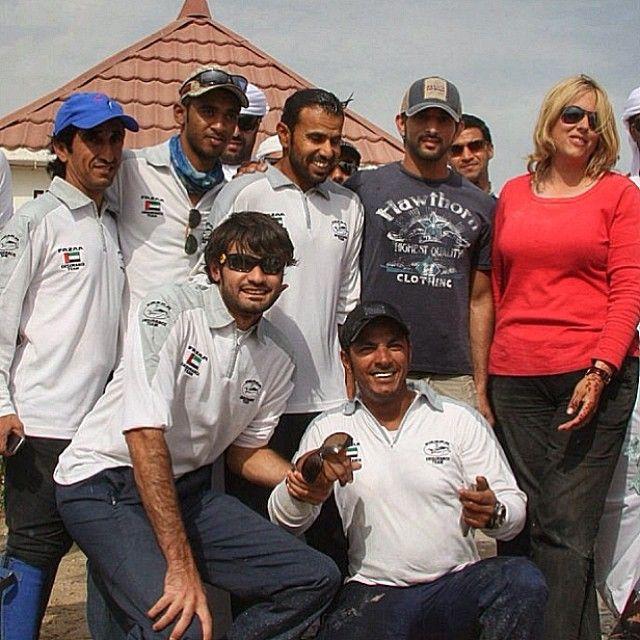 archive from Qatar International Race, Feb 2011. PHOTO : Melanie Cottle-Askew____Uncle Saeed, Mansoor Al Salman, majed233, Salim Ghadayer, Sheikh Hamdan, Melanie,