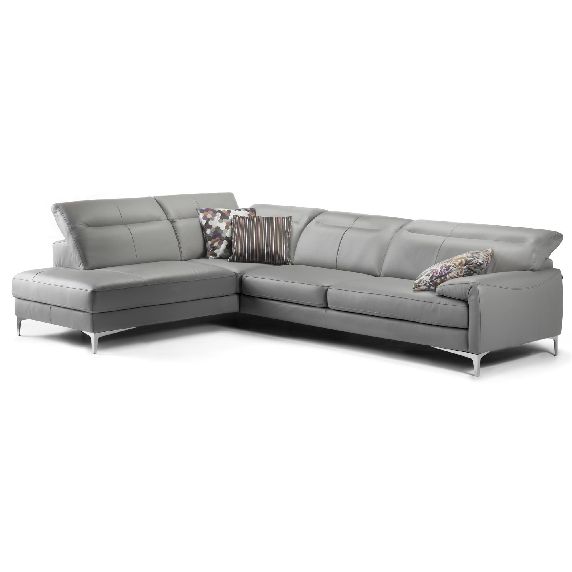 ROM Aruba Leather Corner Sofas from Queenstreet Carpets
