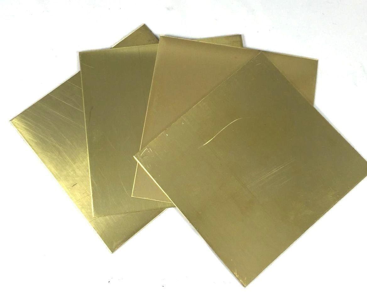 0 99 Brass Metal Thin Sheet Foil Plate Shim Thick 0 5mm 0 8mm 1mm 2mm 100x100mm Ebay Home Garden Metal Working Brass Metal Sheet Metal