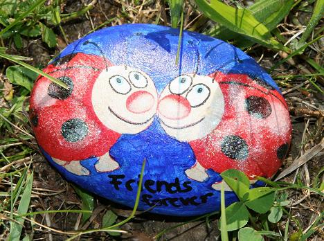 Steine am Glattufer - Loris-lebt - Baby & Familie - LifePortal.ch