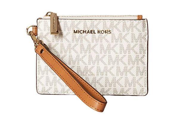 c3b537e04a33 MICHAEL Michael Kors Mercer Logo Coin Purse - Vanilla 32T7GM9P1V-150 ...