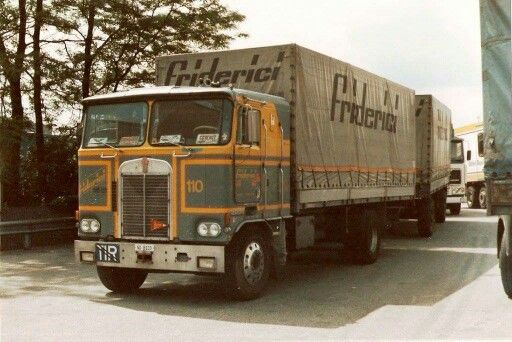 Truck. ?  Friderici. COMBINATIE.