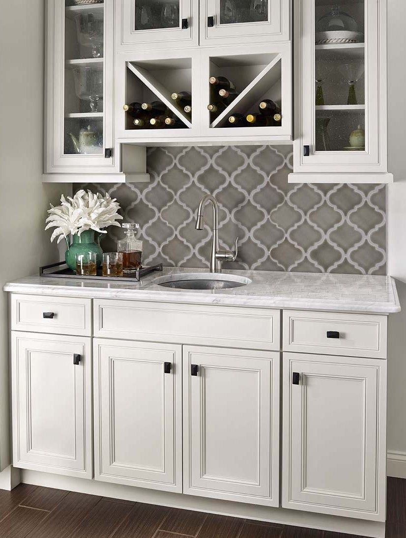 Best Dove Gray Arabesque Remodelacion De Cocinas Decoración 400 x 300
