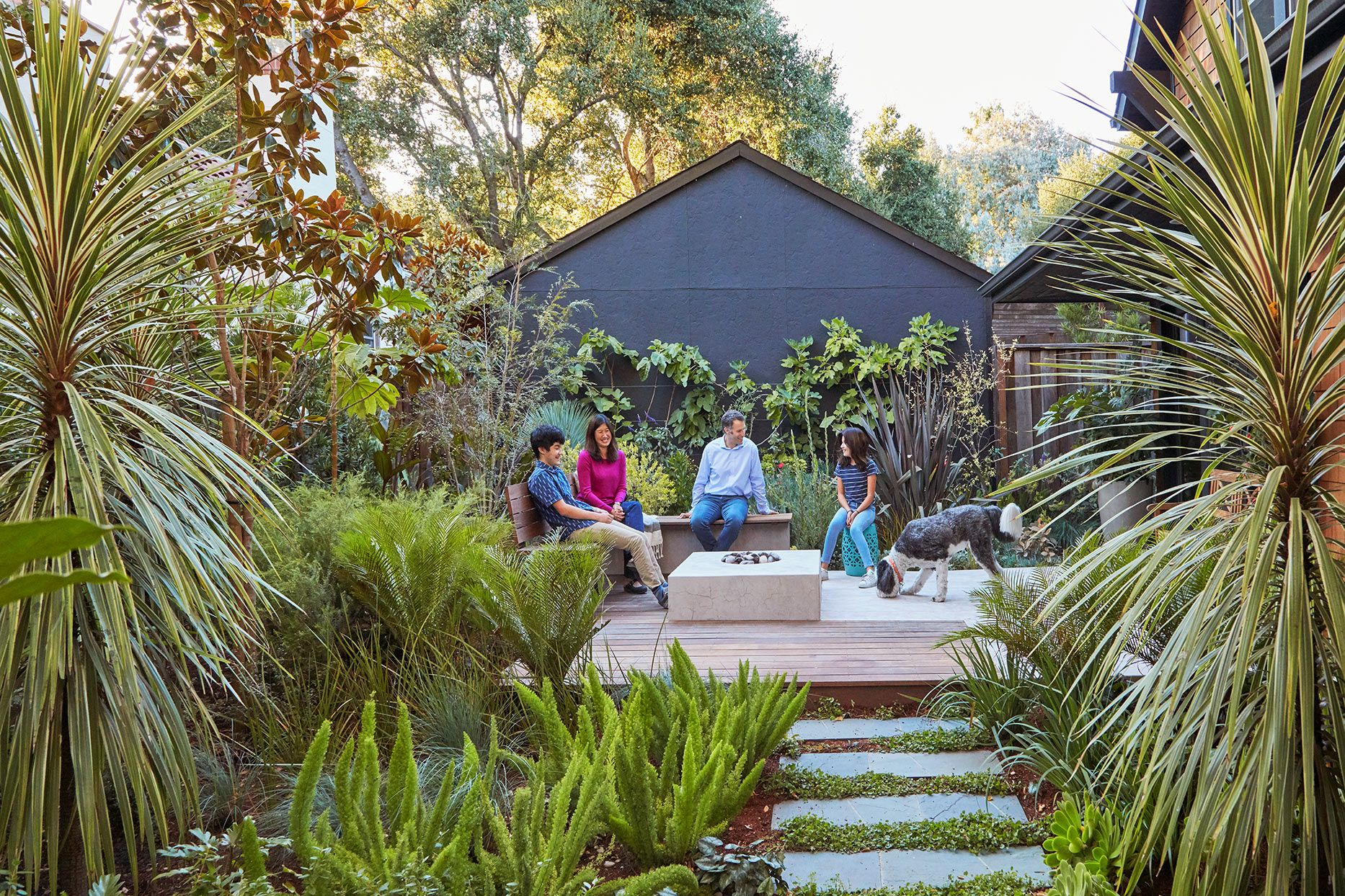 This Family's Lush Landscape Is Full of Small Space Edible