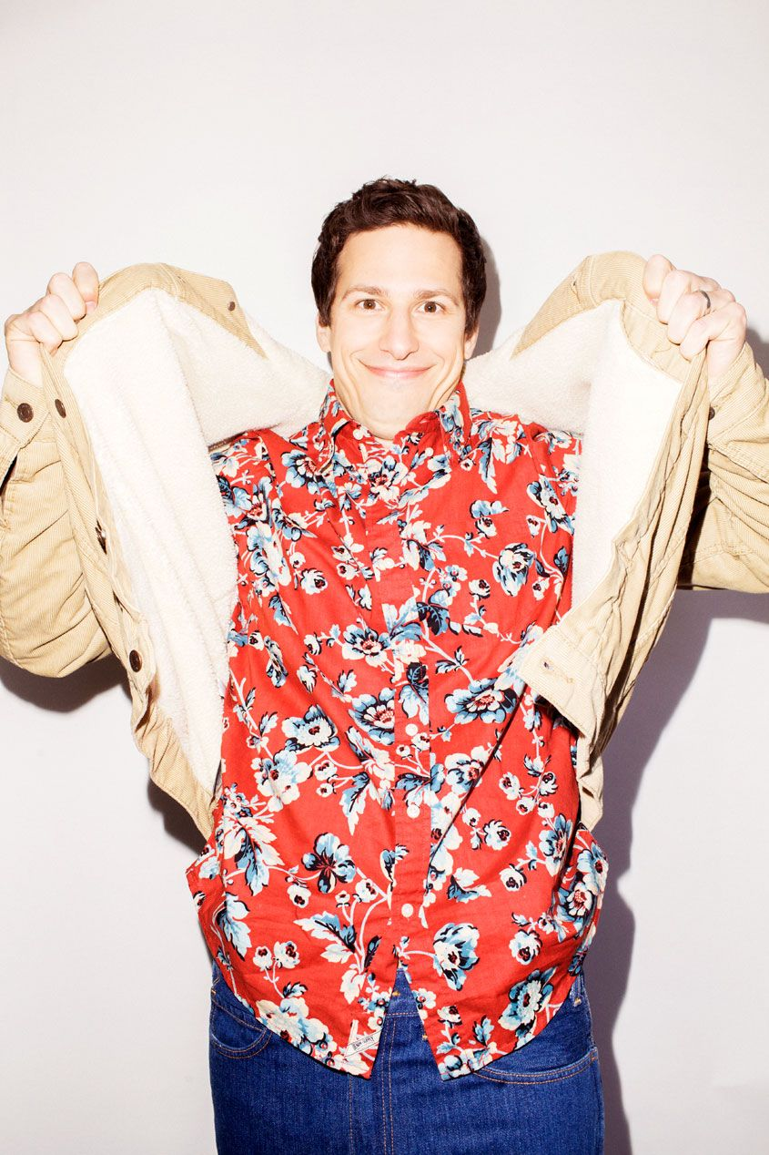 Andy Samberg for Nylon Guys May 2015