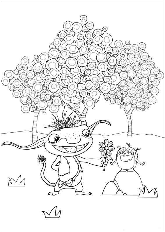Wallykazam Coloring Pages 6 | Coloring pages for kids | Pinterest ...