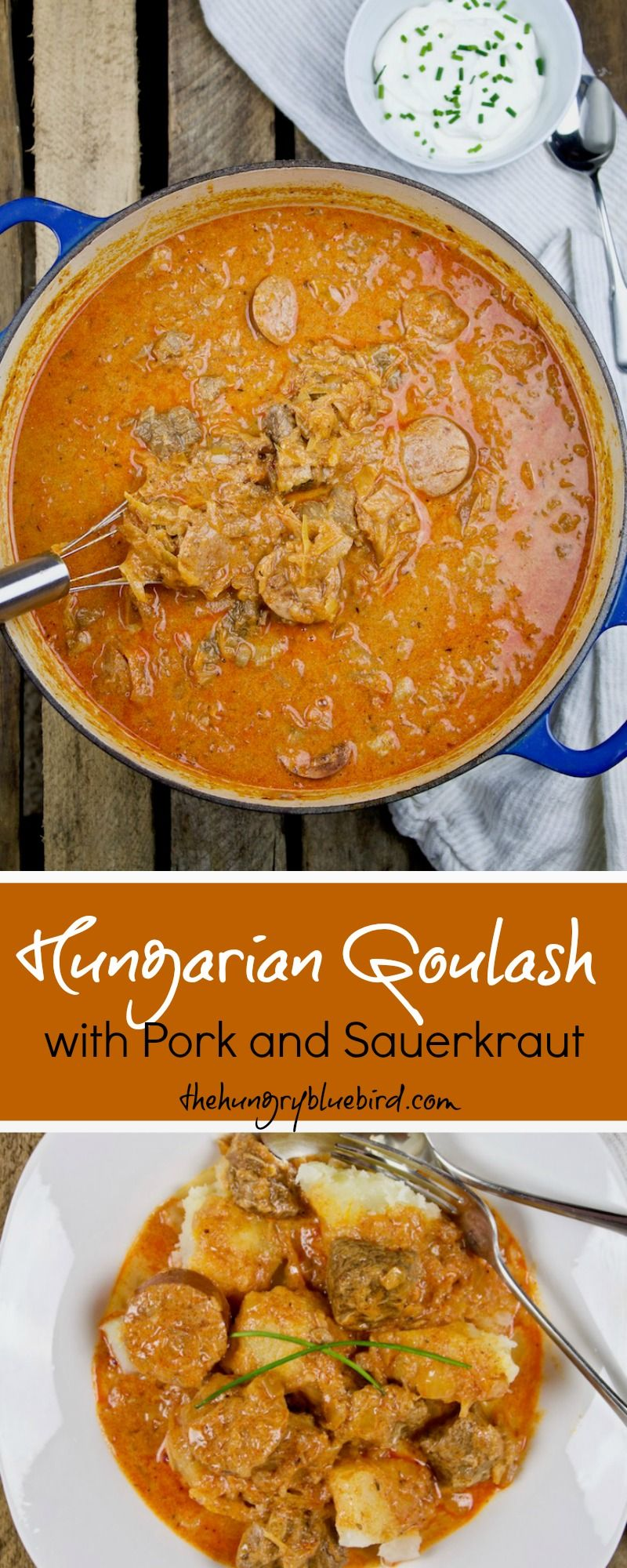 Goulash pork recipe: not in Hungarian, but also delicious