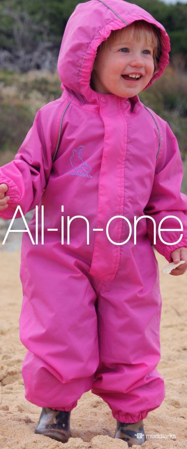 9f74d94a5 muddlarks® all-in-one kids one piece waterproof suit main shot