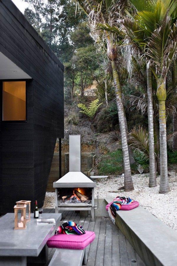 Spectacular Residence By The Bay: Waikopua House Ideas