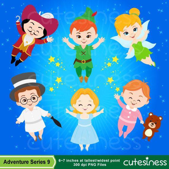 Neverland Digital Clipart Peter Pan Clipart Clip Art Peter Pan