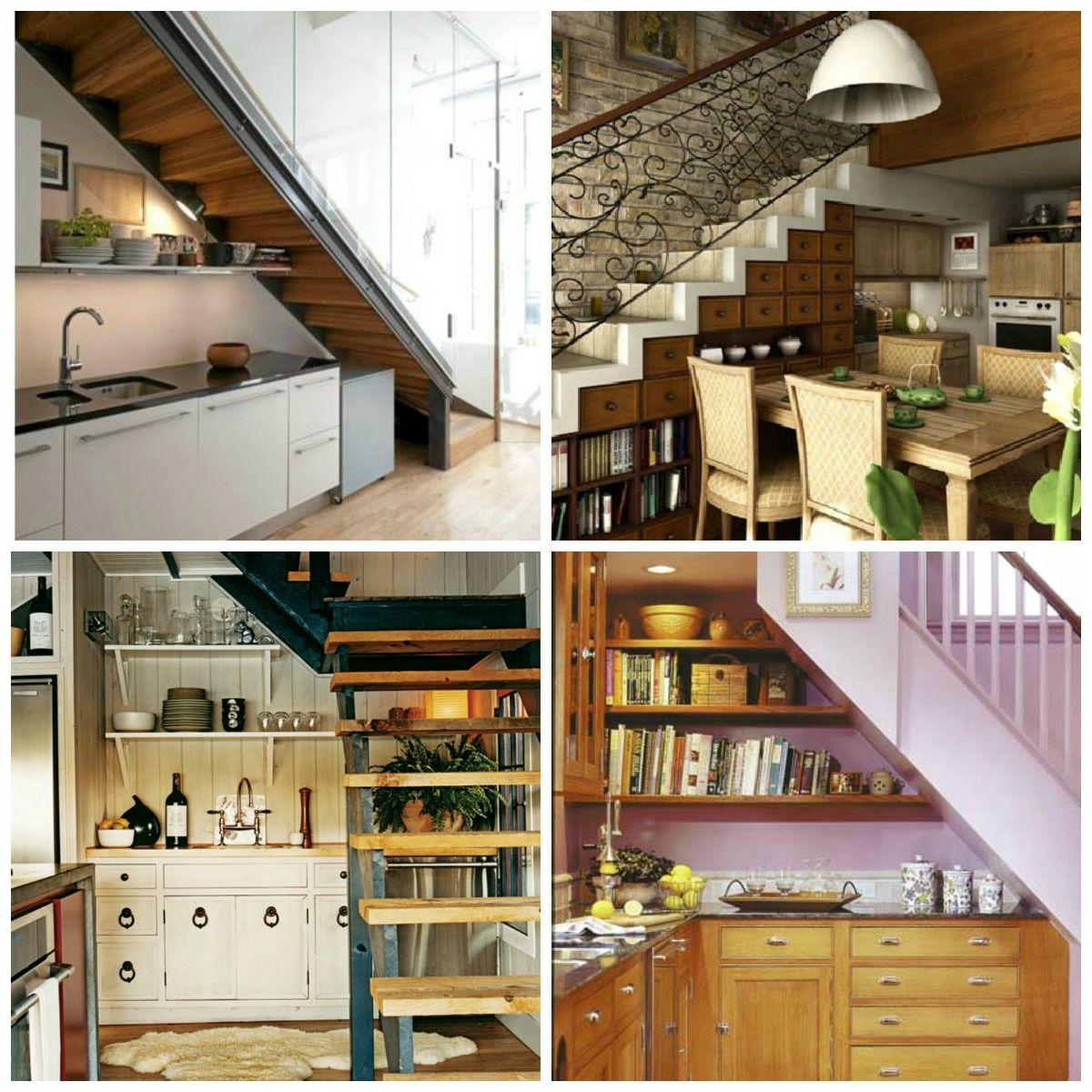 Kitchen Under Staircase