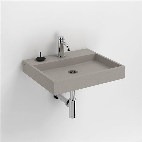 Wastafel Clou In Beton Waschbecken Gaste Wc Und Betonwaschbecken