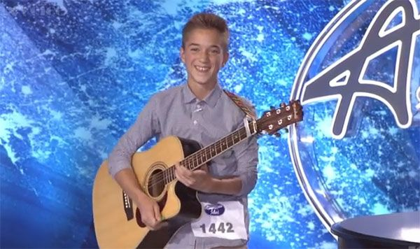 Daniel Seavey Sings Hallelujah On American Idol 2015 Audition