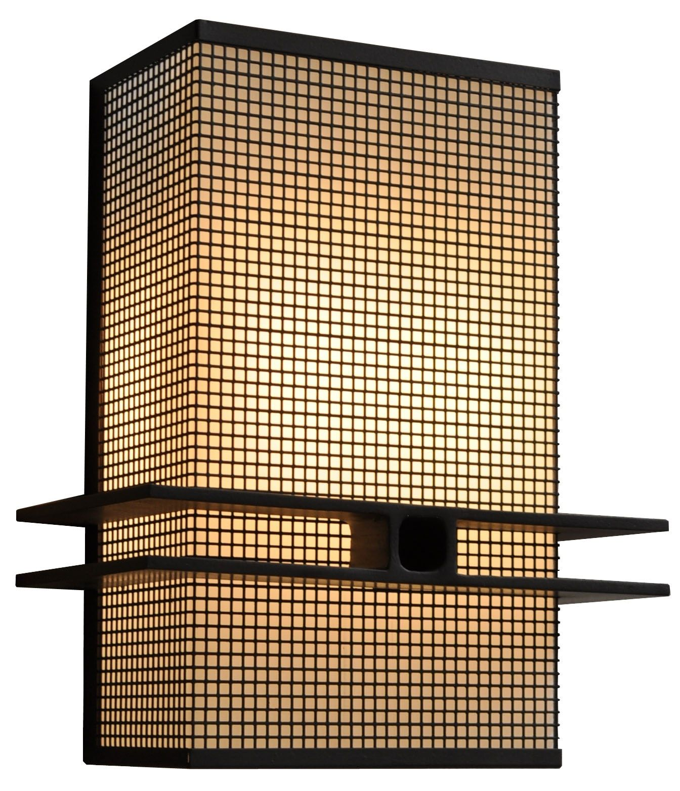 Square Mesh Wall Sconce by ADG Lighting in 2019 Modern