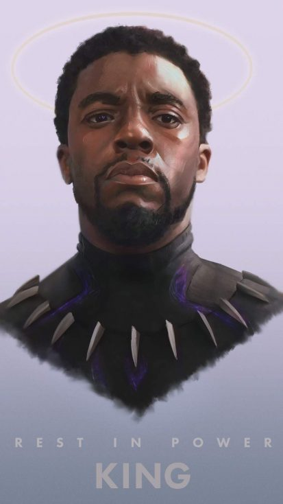 Rest In Power King Black Panther - IPhone Wallpapers