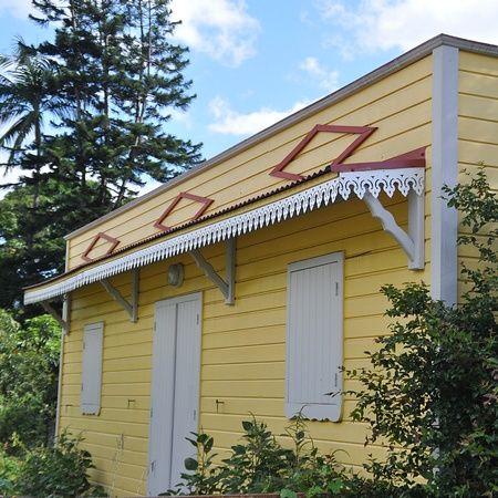 La Réunion  cases créoles Caribbean