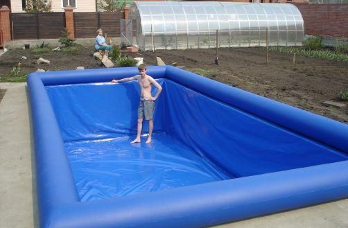Source Hola Adult Plastic Swimming Pool Inflatable Swimming Pool